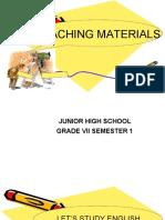 Bahan Ajar Bahasa Inggris SMP.doc
