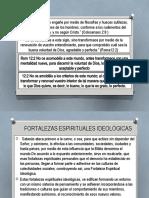 FORTALEZAS IDEOLOGICAS