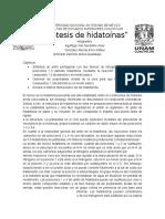SINTESIS DE HIDATOINAS