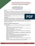 THE TEACHING OF LITERATURE.pdf
