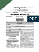 DECRETO DE URGENCIA QUE ESTABLECE DIVERSAS MEDIDAS EXCEPCIONALES Y TEMPORALES PARA PREVENIR LA PROPAGACIÓN DEL CORONAVIRUS (COVID-19) EN EL TERRITORIO NACIONAL