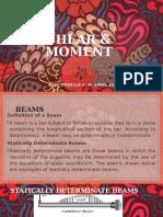 MODULE 9 - SHEAR & MOMENT DIAGRAM