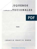 Peluqueros institucionales Martín Baró