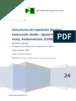CU00150A Estructura repeticion bucle desde siguiente for next anidamiento.pdf