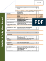 COVID daily checklist MB