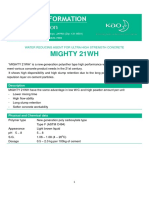 Product information 【MIGHTY 21WH】