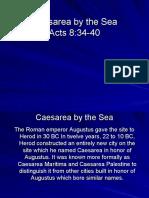 Caesarea by the Sea.ppt