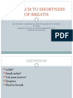 APPROACH TO SHORTNESS OF BREATH