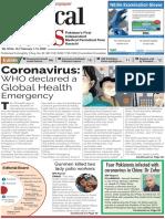 Pakistan National Medical Newspaper Feb 1-14 2020