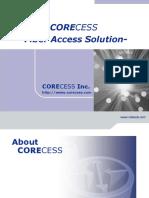 Corecess_Solution
