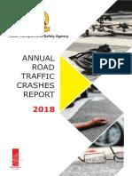 2018 Zambia Annual Road Traffic Crash Statistics Report