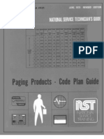 Paging Products -- Code Plan Guide