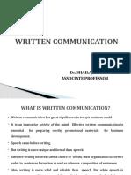 WRITTEN COMMUNICATION.pptx