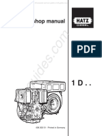 Hatz Diesel 1d30 s Workshop Manual 193