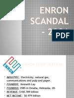 ENRON SCANDAL - 2001.pptx