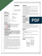 Manual 220VAC