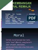 perkembangan Moral Remaja