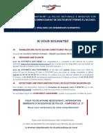 Communiqué de la police d'Orléans et Montargis