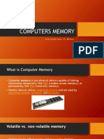 Computers Memory