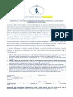 Modello Richiesta on Line Convalida Dimissioni Madri e Padri- Periodo Emergenziale COVID-19