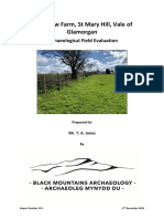 Vale View, Vale of Glamorgan Archaeological Field Evaluation Report