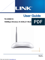 TP-Link Network Router TD-W8901N