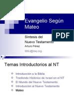 Evangelio de San Mateo  - Analisis