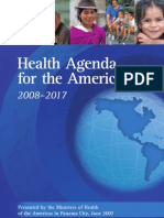 Health Agenda for the Americas 2008-2017