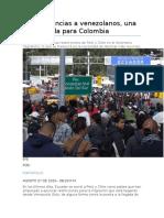 venezuela y colombia