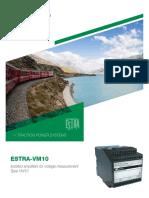 SG817910BEN_C02_Brochure_ESTRA-VM10_09-2018
