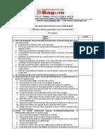 CSI6 ForSCI 6 - Rubric