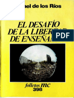 De los Rios 1985-Desafio de la libertad de enseñanza.pdf
