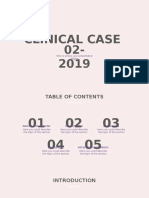 Clinical Case 02-2019 by Slidesgo