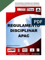Regulamento Disciplinar APAC