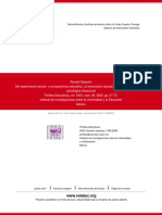 Baquero (2002). Del Experimento Escolar a La Experiencia Educativa.