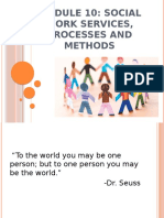 social work processes and methods