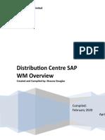 Distribution Center SAP WM Overview