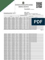 Modelo de memorial descritivo tabular( SIGEF)