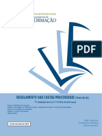 REGULAMENTO CUSTAS PROCESSUAIS E PORTARIA 419-A
