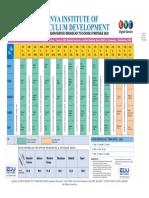KICD Radio Timetable 2020 Converted