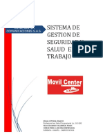 SG-SST MOVIL CENTER