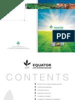 Equator Annual Report 2009 (791kb)