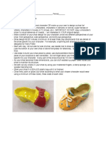 clay shoe rubric