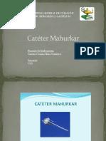 Catéter-Mahurkar