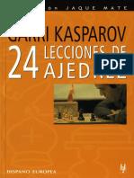 Ajedrez G. Kasparov Páginas 1 10