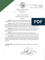 Jackson Mayor Scott Conger emergency declaration on COVID-19