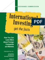 Consumer) International Investing - Get the Facts