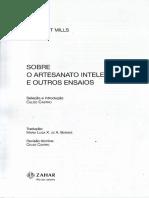 CASTRO, Celso. Sociologia e a arte da manutenção de motocicletas. IN. MILLS. Sobre o artesanato intelectual e outros ensaios. Rio de Janeiro Zahar, 2009.