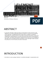 Finite element simulation of damage in rc beams.pptx