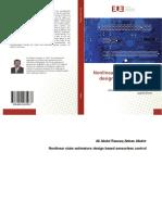 Nonlinear State Estimators Design Based Sensorless Controller Electrical Drives
